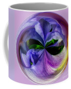 Purple Iris Orb Coffee Mug