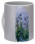 Purple Irises Coffee Mug