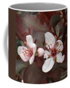 Purple Leaf Sand Cherry Burst Coffee Mug