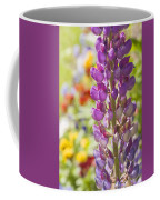 Purple Lupine Flowers Coffee Mug