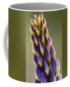 Purple Lupine Macro Coffee Mug