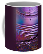 Purple Meterorite Coffee Mug