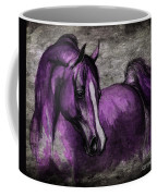 Purple One Coffee Mug by Angel  Tarantella