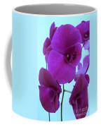 Purple Orchids 3 Coffee Mug