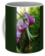 Purple Oriental Tiger Lily Coffee Mug