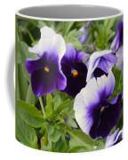 Purple Pansy Melody Coffee Mug