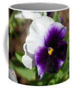 Purple Pansy Coffee Mug