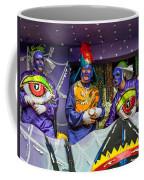 Purple Party People Coffee Mug