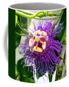 Purple Passion Flower Coffee Mug