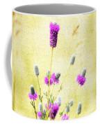 Purple Passion Texture Coffee Mug