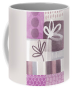 Purple Patchwork- Contemporary Art Coffee Mug