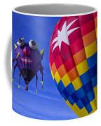 Purple People Eater Rides The Wind Coffee Mug