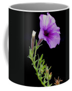 Purple Petunia Coffee Mug