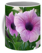 Purple Petunia  Coffee Mug
