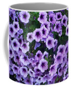 Purple Petunias Coffee Mug