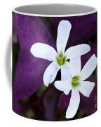 Purple Queen Flowers Coffee Mug by Sabrina L Ryan