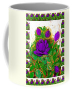 Purple Roses From The Garden 2 Coffee Mug