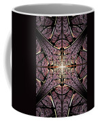 Purple Shield Coffee Mug