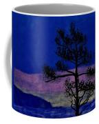 Purple Sunset Bay Coffee Mug