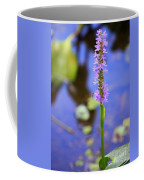 Purple Swamp Flower Coffee Mug