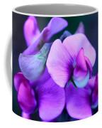 Purple Sweet Peas Coffee Mug