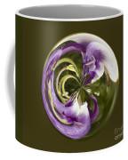 Purple Swirl Orb Coffee Mug