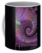 Purple Swirl Coffee Mug