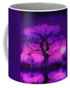 Purple Tree Of Life Coffee Mug