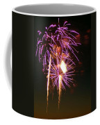 Purple Trees Coffee Mug by Optical Playground By MP Ray