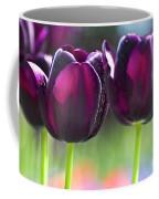 Purple Tulips Coffee Mug by Heiko Koehrer-Wagner