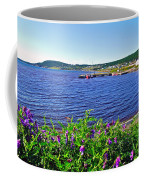 Purple Vetch Overlooking Rocky Harbour-nl Coffee Mug