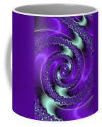 Purple Vortex Coffee Mug