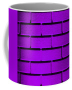 Purple Wall Coffee Mug by Semmick Photo