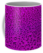 Purple Water Drops On Water-repellent Surface Coffee Mug