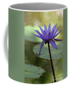 Purple Water Lily In The Shade Coffee Mug