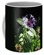 Purple Wildflower Coffee Mug