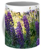 Purple Wildlfowers Coffee Mug