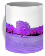 Purple World Coffee Mug