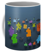 Puzzle Family Coffee Mug by Gianfranco Weiss