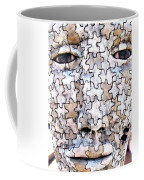 Puzzled Man No2 Coffee Mug
