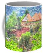 Pyramid Houses In Spring II Coffee Mug