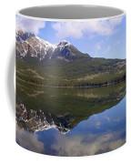 Pyramid Lake Mountain Reflections - Jasper, Alberta Coffee Mug