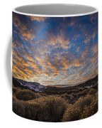 Pyramid Lake Sunset Coffee Mug