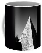 Pyramid Of Cestius Coffee Mug by Fabrizio Troiani