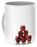 Pyramid Of Organic Apples Coffee Mug