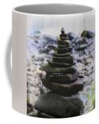 Pyramid Of Rocks Coffee Mug