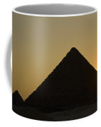 Pyramids At Dusk Coffee Mug