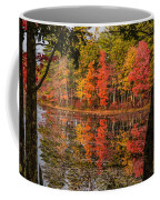 Quabbin Reservoir Fall Foliage Coffee Mug
