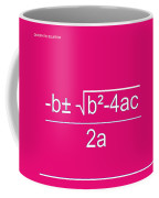 Quadratic Equation Coffee Mug