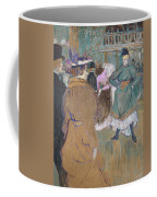 Quadrille At The Moulin Rouge, 1892 Coffee Mug